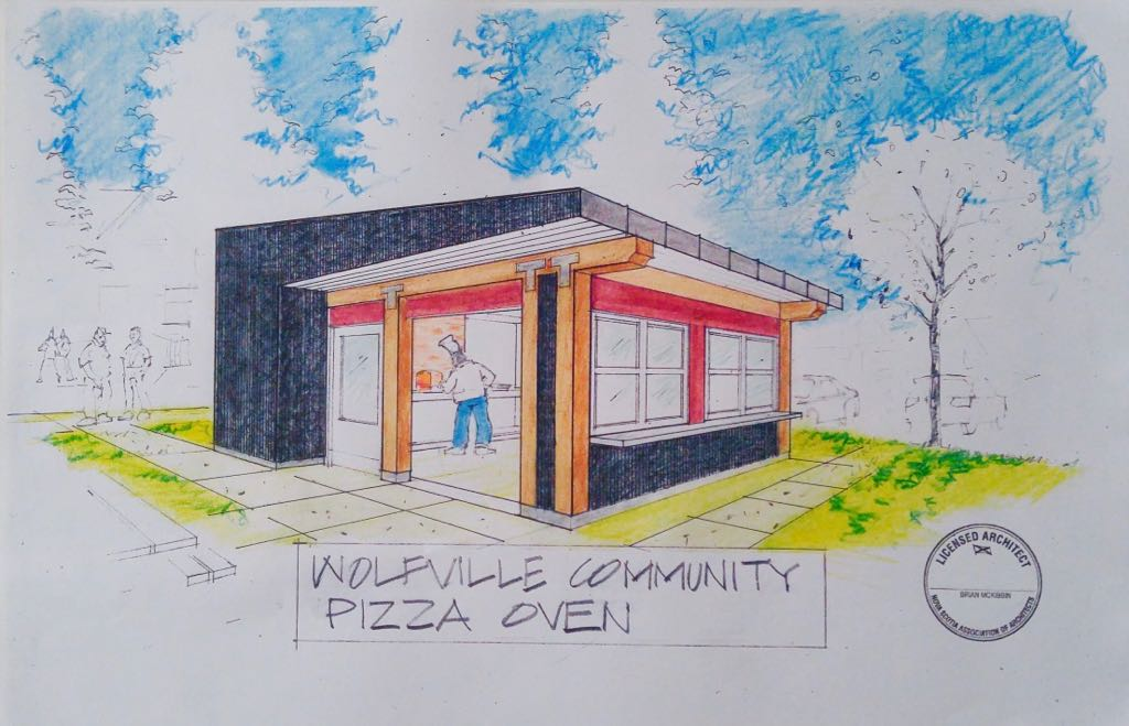 New Building for Front Street Community Oven, Wolfville