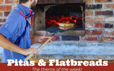 Aug 12, 2021- Experiment Thursday's: Pitas and Flatbreads
